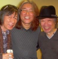 with 知久さん、田切さん