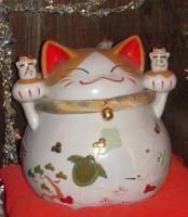 ブルードアーの招き猫