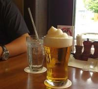 昼下がりのビール
