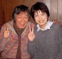with Kumi-san