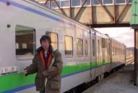 鈍行列車のプレート