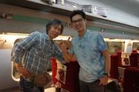with Park-san